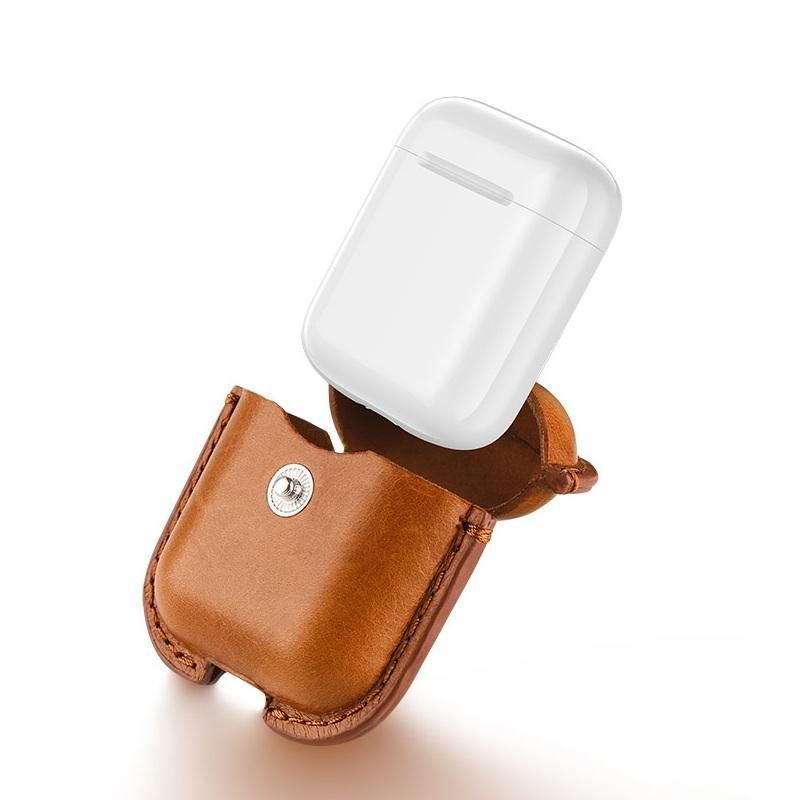Usams Us Bh475 Genuine Leather Airpods Case (2)