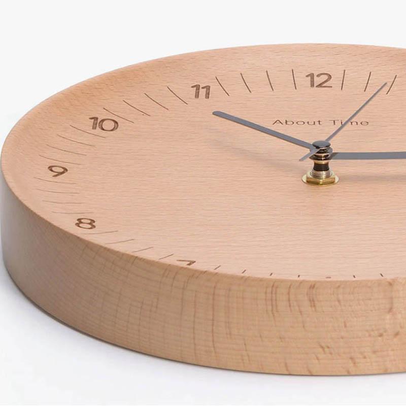 Xiaomi Bela Design Wooden Wall Clock (2)