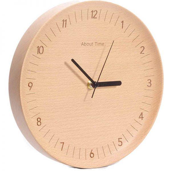 Xiaomi Bela Design Wooden Wall Clock (4)