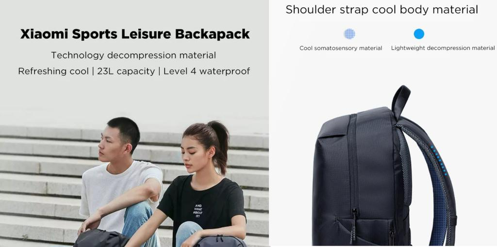 Xiaomi Mi Backpack Leisure Sport Backpacks 23l (3)