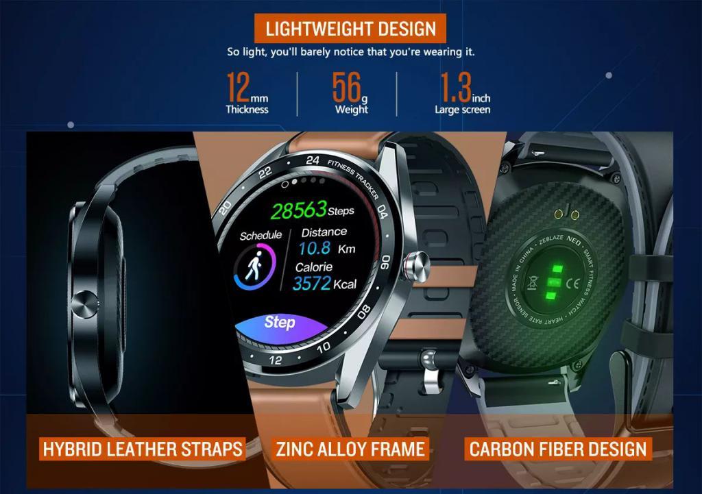 Zeblaze Neo Full Round Touch Screen Smartwatch (3)
