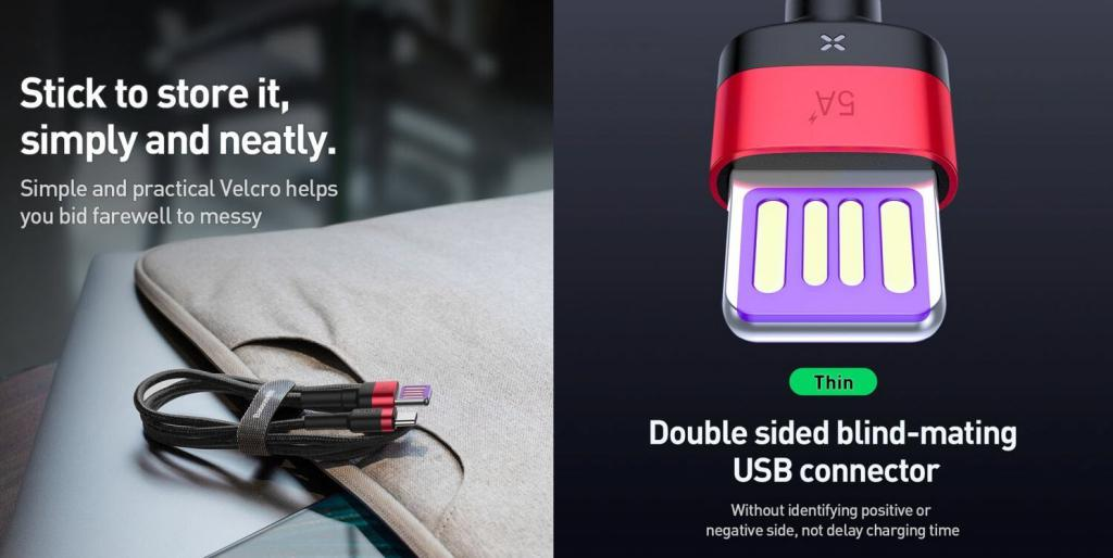 Baseus Cafule 40w Hw Quick Charging Type C Data Cable (1)