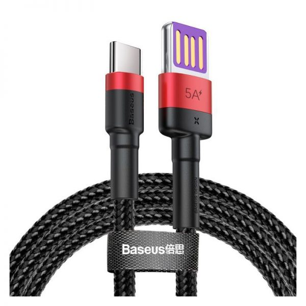 Baseus Cafule 40w Hw Quick Charging Type C Data Cable (3)