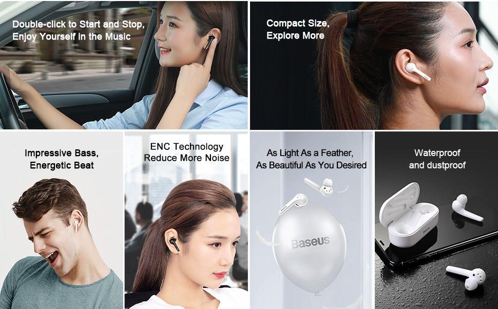 Baseus W07 Tws Bluetooth Earphones (3)