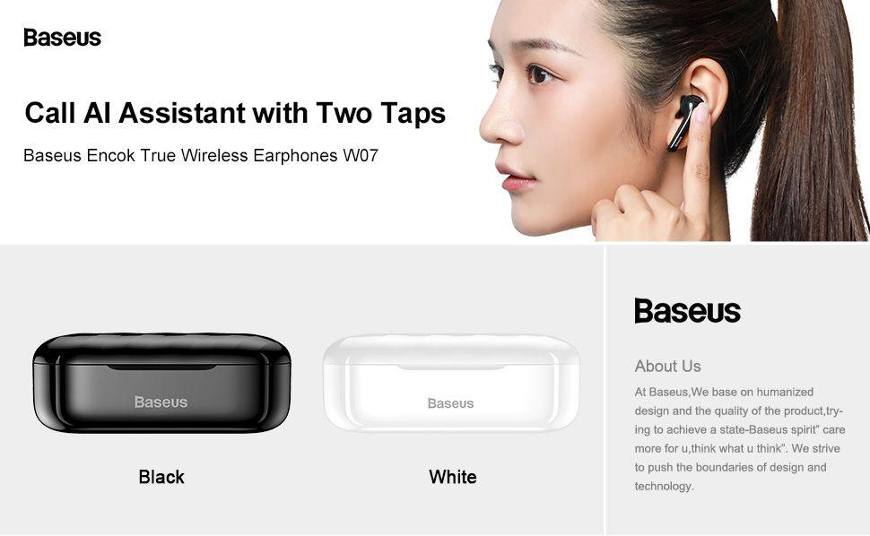 Baseus W07 Tws Bluetooth Earphones (4)