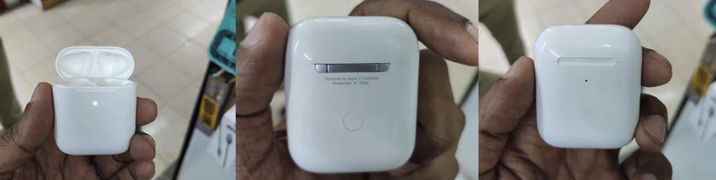 California Airpods Wireless Charging