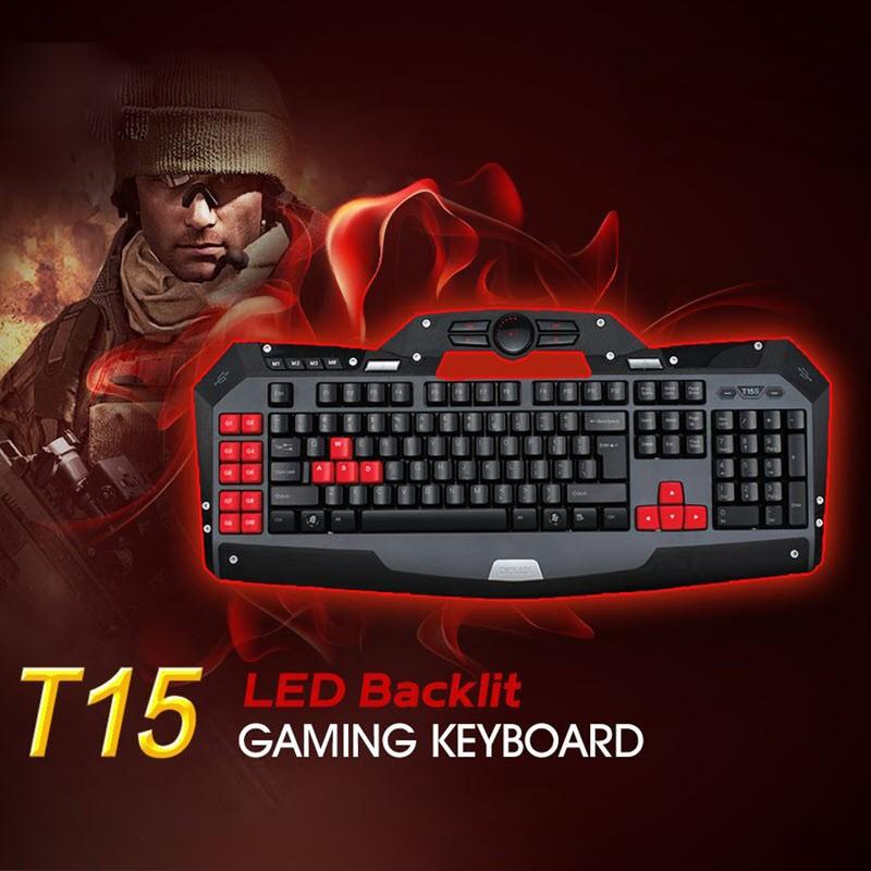 Delux T15 Led Backlit Gaming Keyboard (3)