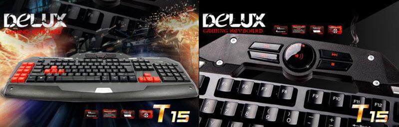 Delux T15 Led Backlit Gaming Keyboard (4)