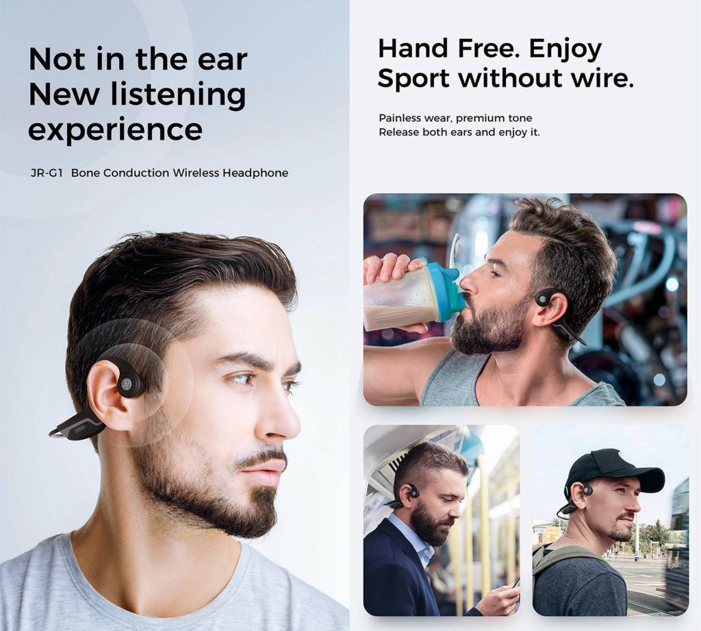 Joyroom Jr G1 Bluetooth Bone Conduction Wireless Headsets (2)