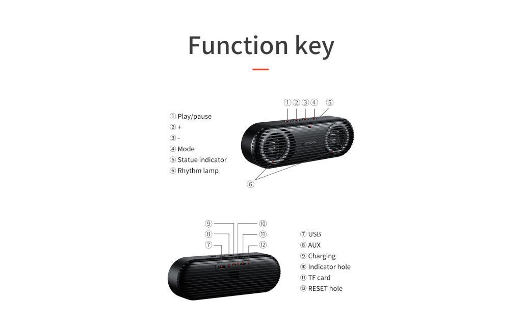 Joyroom Jr M01s Bluetooth Speaker (7)