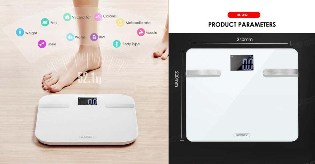 Remax Rl Lf02 Body Scales (4