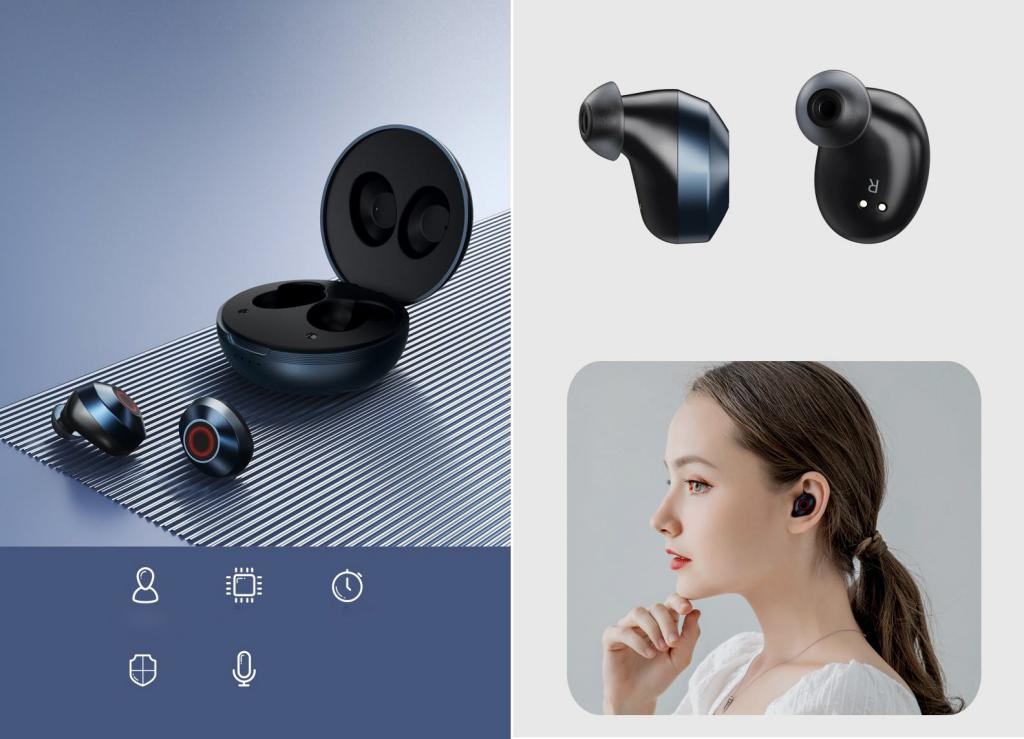 Remax Tws 8 Bluetooth Earbuds (3)