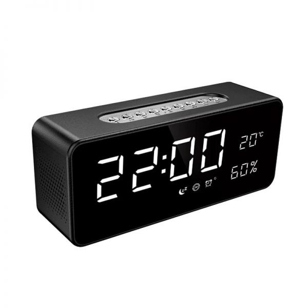 Sardine S1 Dual Bluetooth Speaker With Led Display Clock (5)