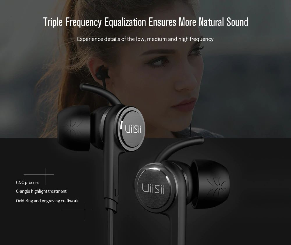 Uiisii Ba T7 Hybrid Double Moving Headphones With Mic (3)