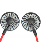 Usb Rechargeable Necklace Fan (2)
