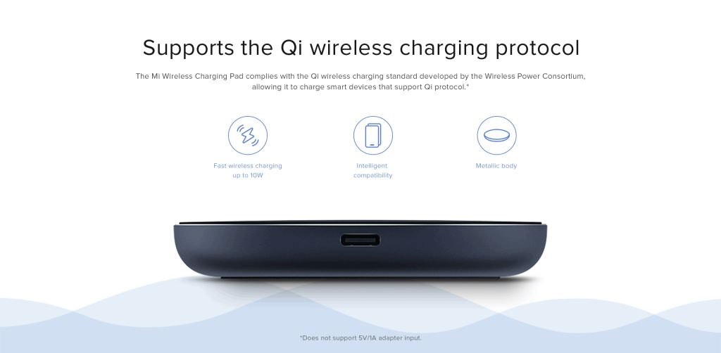 Xiaomi Mi 10w Wireless Charging Pad (4)