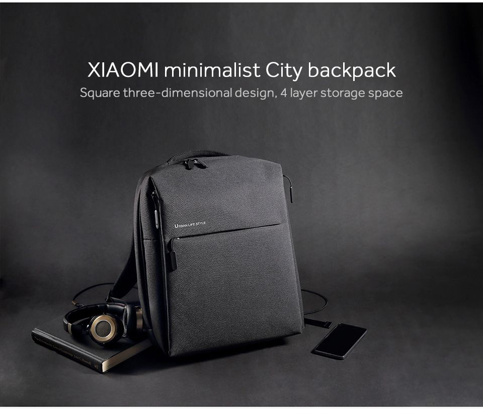Xiaomi Mi Backpack Urban Life Style Bag (5)