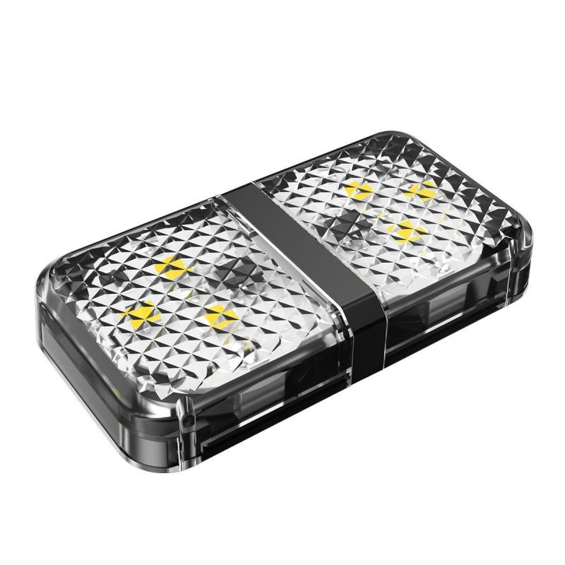 Baseus 2pcs 6 Leds Car Openning Door Warning Flash Lights (1)