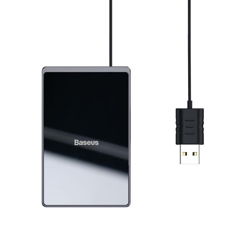 Baseus Card Ultra Thin Wireless Charger 15w With Usb Cable (5)