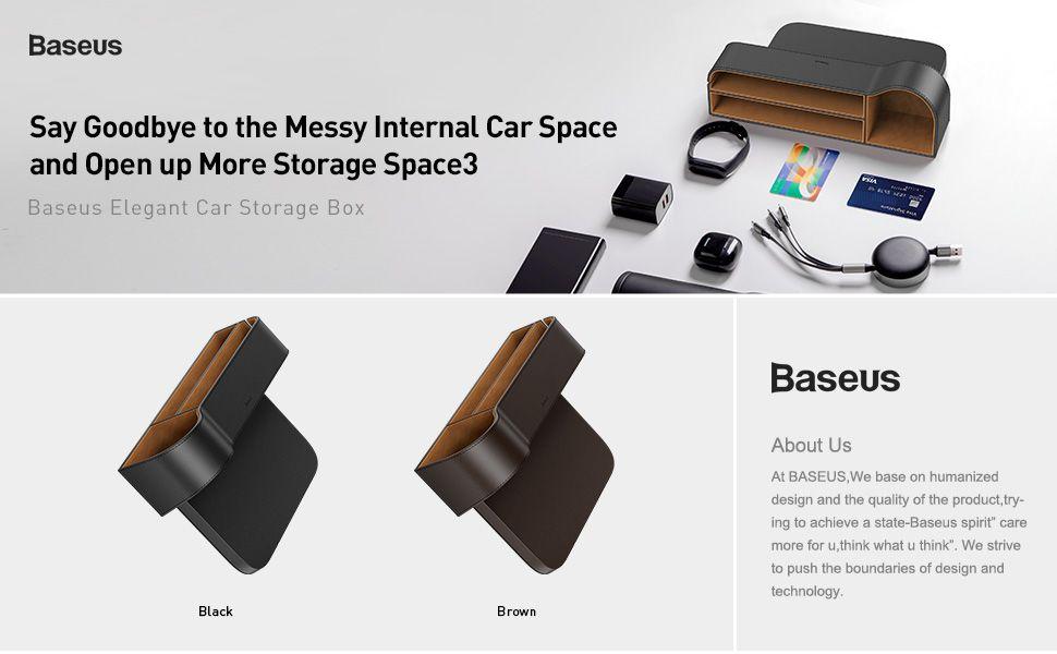 Baseus Elegant Car Storage Box (2)