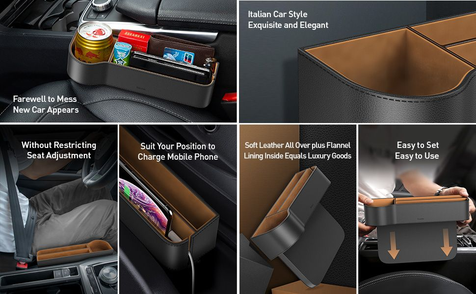 Baseus Elegant Car Storage Box (3)