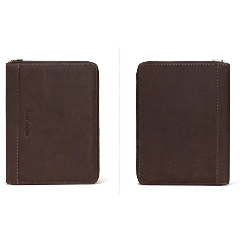 Contacts Family Leather Bag For Phone Pocket Earphone Pouch Passport Holder (5)