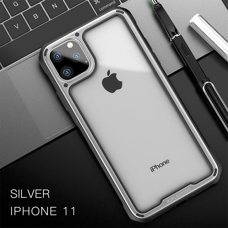 Ipaky Armor Shockproof Transparent Case For Iphone 11 11 Pro 11 Pro Max (3)