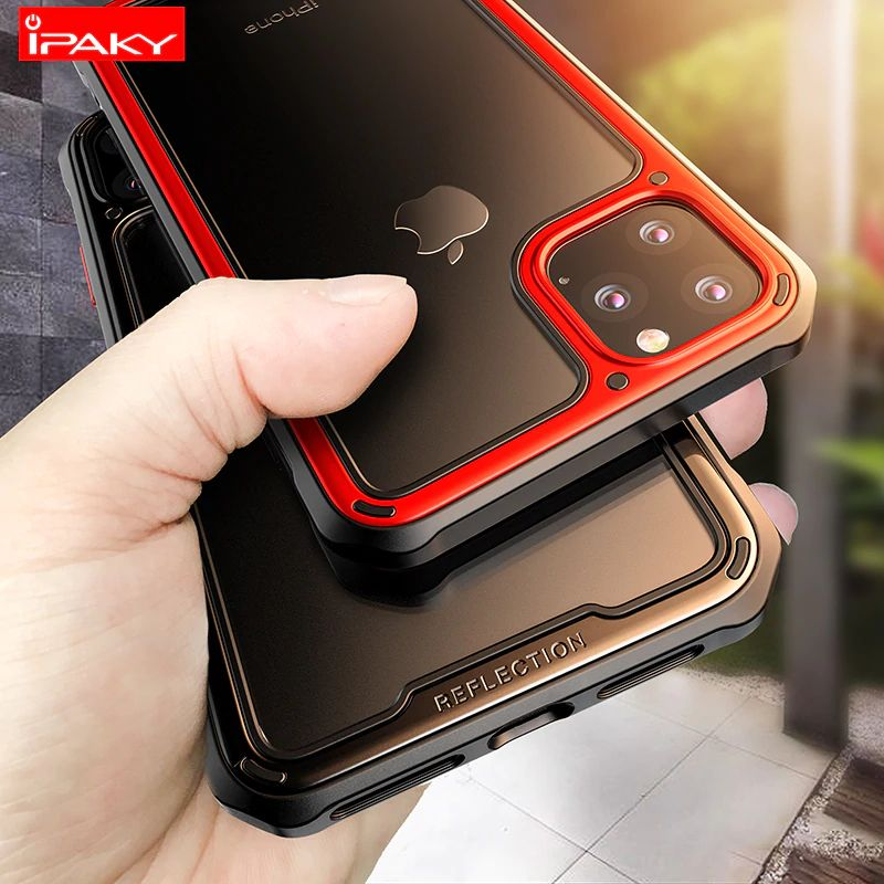 Ipaky Armor Shockproof Transparent Case For Iphone 11 11 Pro 11 Pro Max (4)