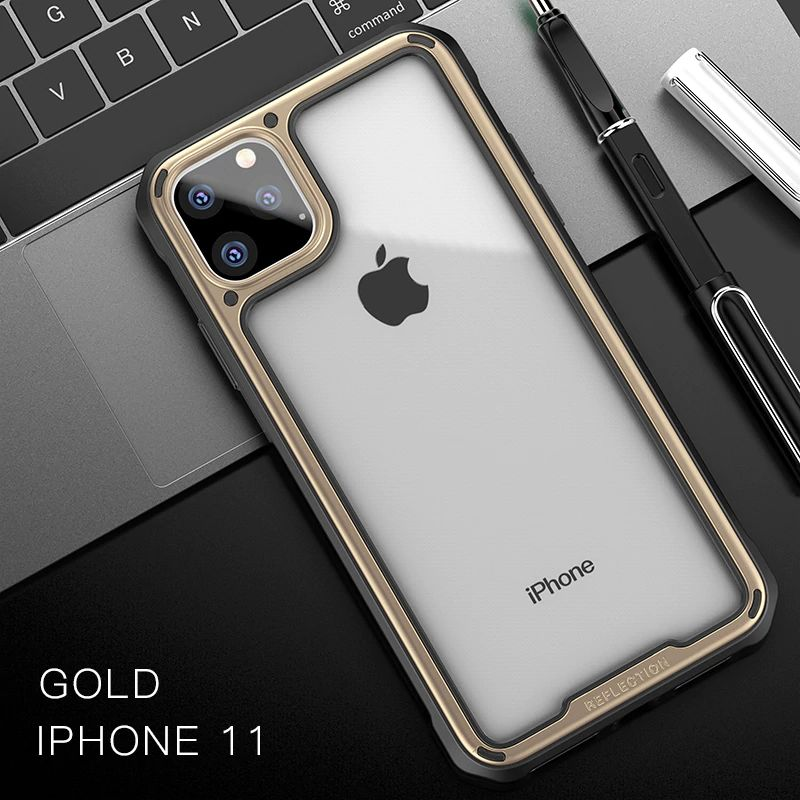 Ipaky Armor Shockproof Transparent Case For Iphone 11 11 Pro 11 Pro Max (7)