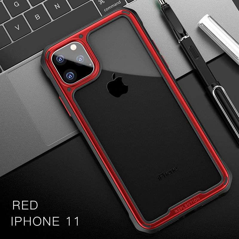 Ipaky Armor Shockproof Transparent Case For Iphone 11 11 Pro 11 Pro Max (7) 1