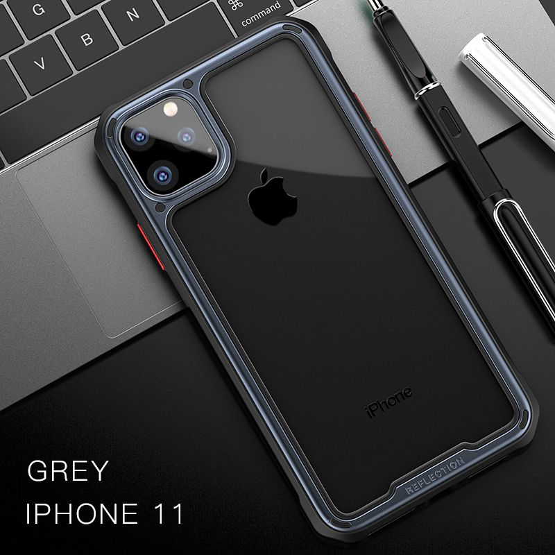 Ipaky Armor Shockproof Transparent Case For Iphone 11 11 Pro 11 Pro Max (9)