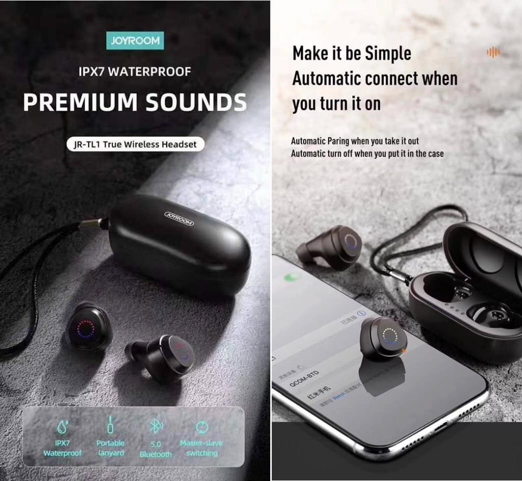 Joyroom Jr Tl1 Tws Waterproof Earbuds (3)