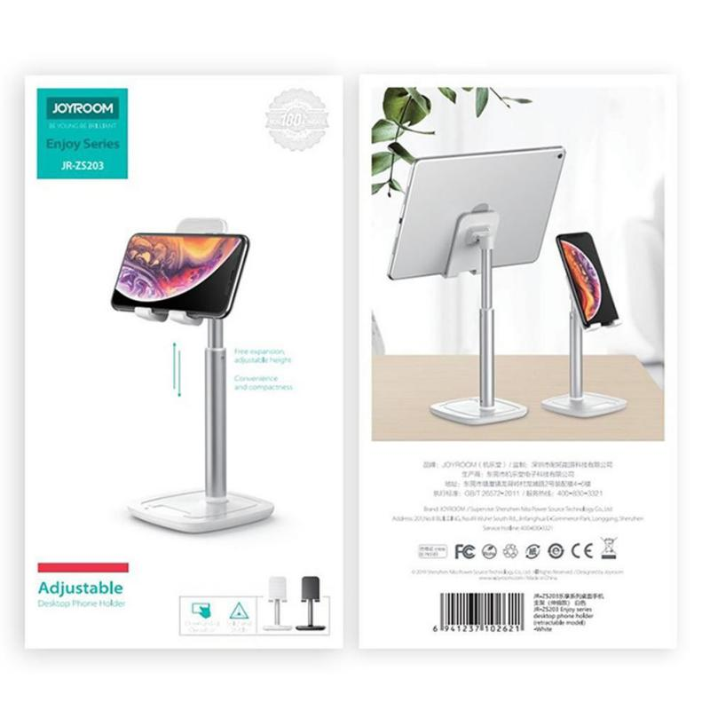 Joyroom Zs203 Universal Tablet Phone Holder Table Stand (4)