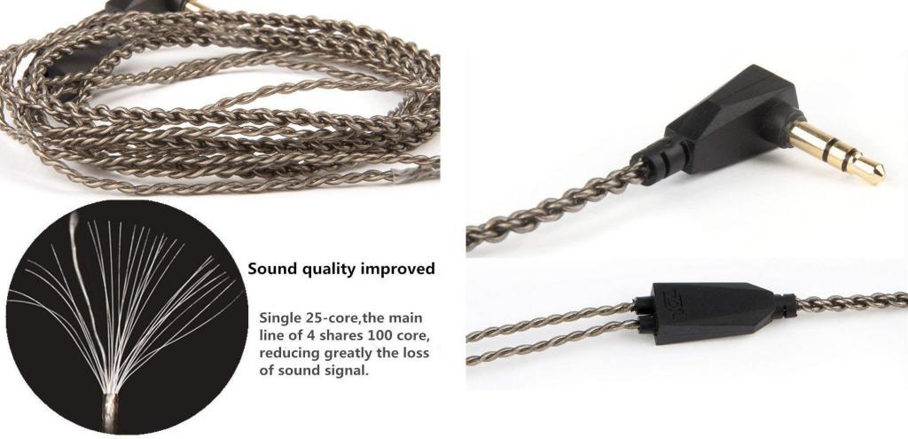 Kz Upgrade Replacement Earphones Cable (2)
