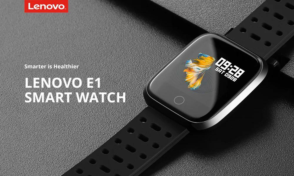 Lenovo E1 Sports Smartwatch (2)