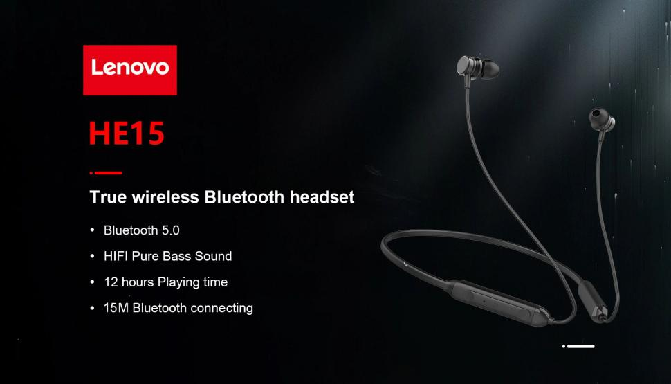 Lenovo He15 Waterproof Sports Earphones (2)