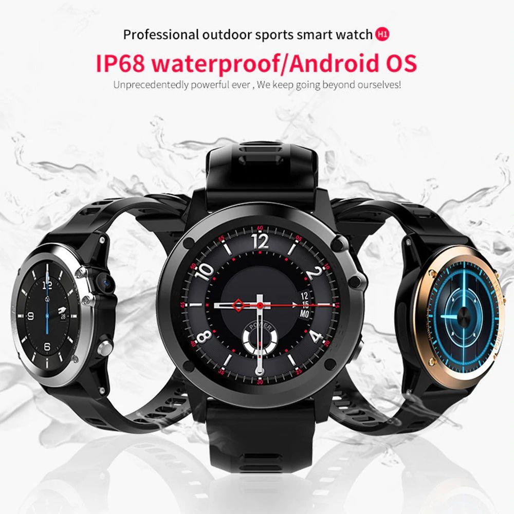 Microwear H1 3g Smartwatch Sim Card Supported (2)
