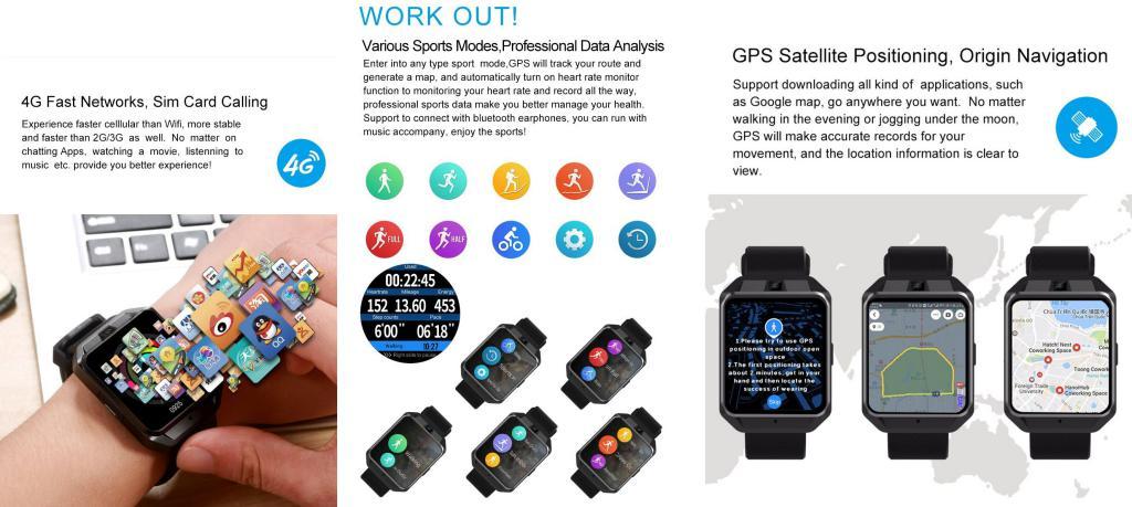 Microwear H5 4g Sim Supported Smart Watch (8)