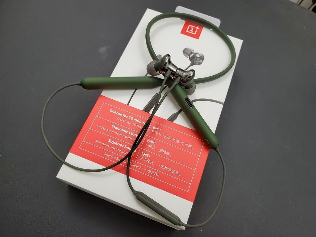 Oneplus Bullets Wireless 2 Olive Green (1)