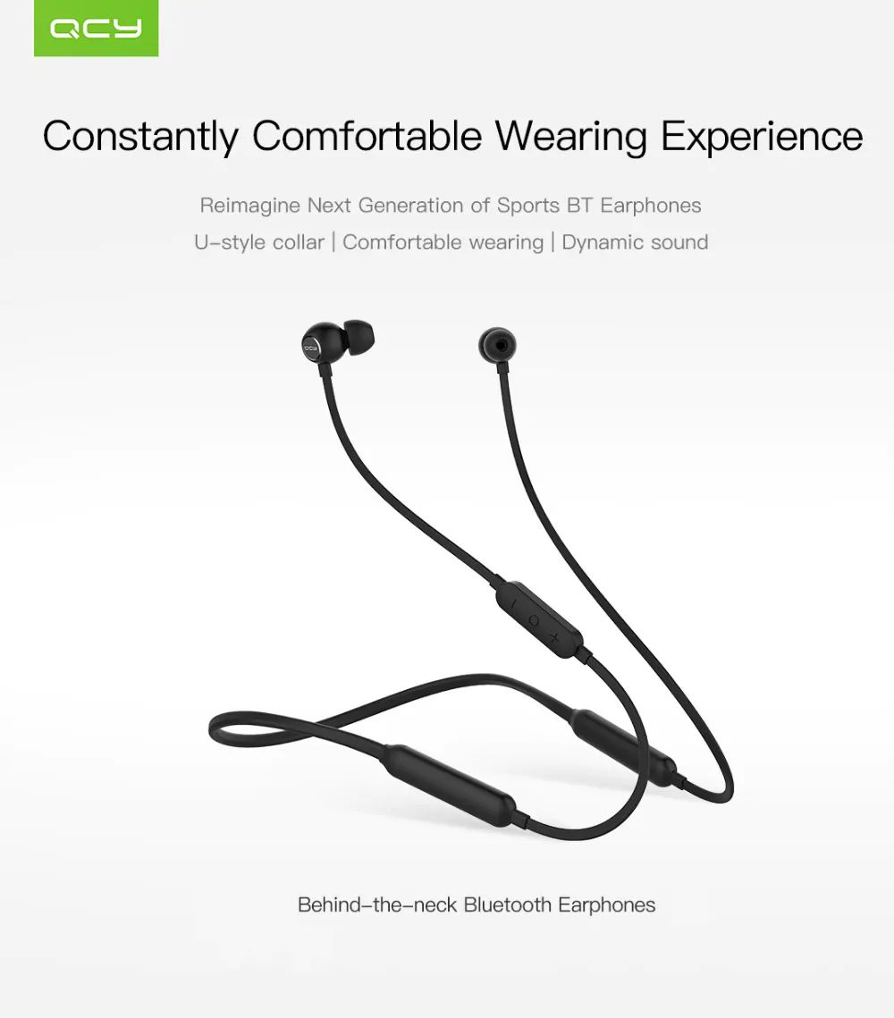 Qcy L1 Magnetic Bluetooth Headphones With Mic (5)