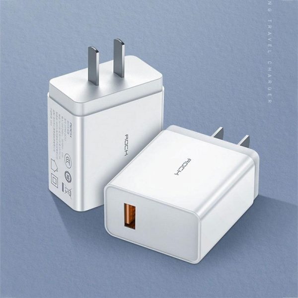 Rock T12 Pro Portable Qc3 Travel Charger (4)