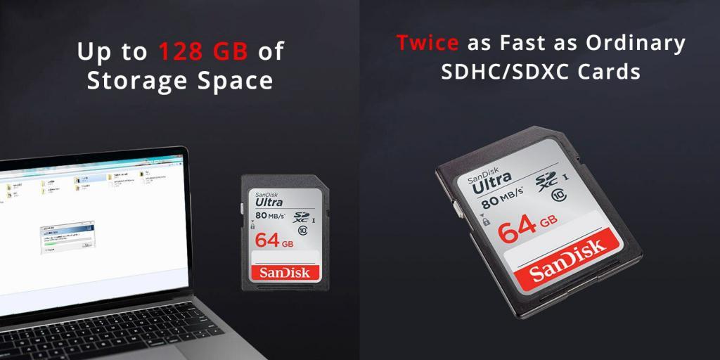 Sandisk Ultra Sdxc Uhs I Memory Card For Digital Slr Camera 80mb S (2)
