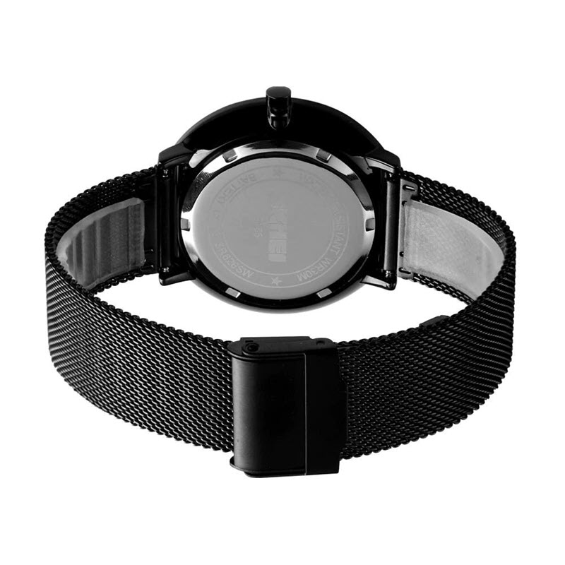 Skmei 9185 Stainless Steel Strap Quartz Watch (1)