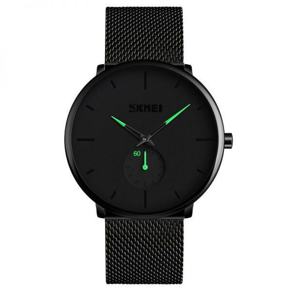 Skmei 9185 Stainless Steel Strap Quartz Watch (4)