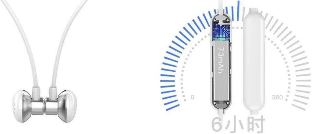 Uiisii B12 Bluetooth Sports Earphones (4)