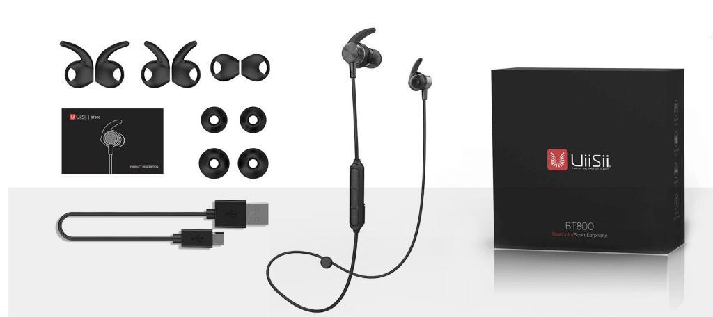 Uiisii Bt800j Bluetooth Magnetic Sports Headphones (4)