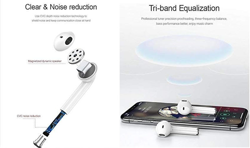 Usams Us Lq001 Bluetooth 5 0 Wireless Tws Earbuds (1)