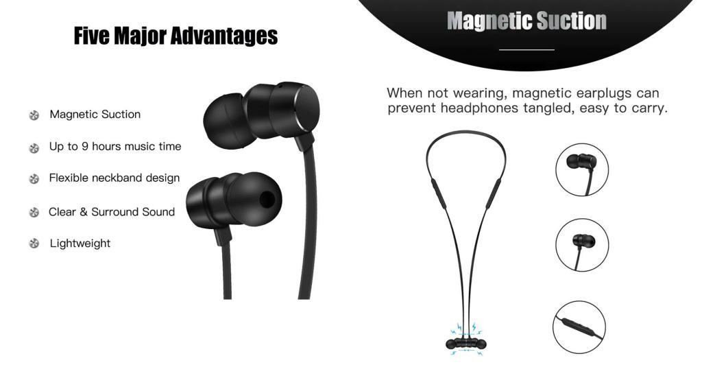 Wavefun Flex Bluetooth Sports Earphones (4)