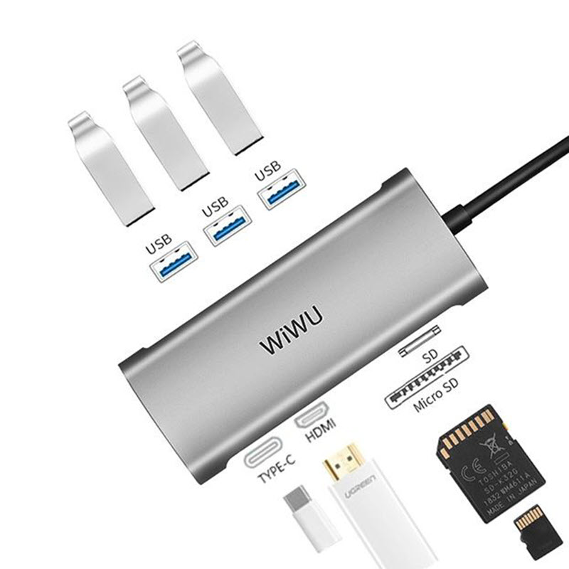 Wiwu Alpha 7 In 1 Usb C Hub A731hp (2)