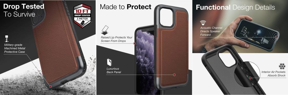 X Doria Defense Prime Case For Iphone 11 11 Pro 11 Max Pro (3)